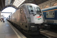 Locomotive du train EC 345 Budapest ➔ Belgrade