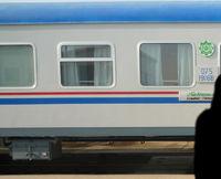 Paris Pékin / Shanghai en train