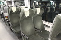 Sièges seconde classe du train ÖBB Railjet Francfort – Munich – Budapest