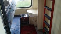 Compartiment du train couchette Wrocław (Pologne) ⇄ Cracovie (Kraków, Pologne) ⇄ Lviv (Львів, Ukraine)